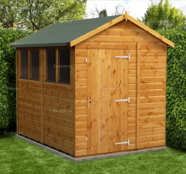 Apex Shed 850 - Fast Delivery, Many Possible Designs