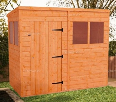 Pent Shed 048 - 3-5 Day Delivery, Many Possible Designs
