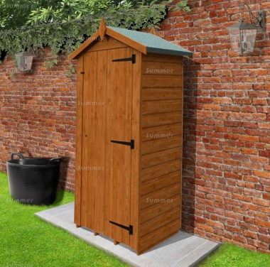Shiplap Apex Roof Small Storage Shed 231 - All T and G