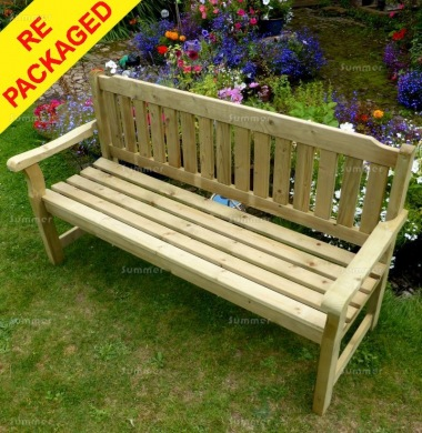 Repackaged 3 Seater Bench 210 - Pressure Treated