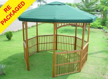Repackaged Wooden Gazebo 134 - Octagonal