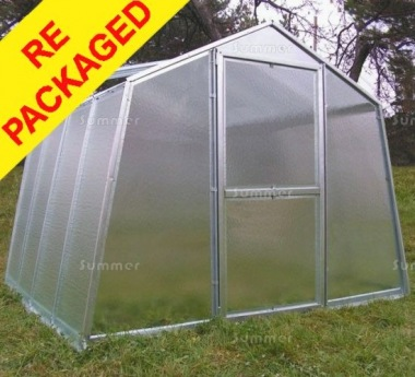 Repackaged Greenhouse 072 - Galvanized Steel Frame, 6mm Polycarbonate