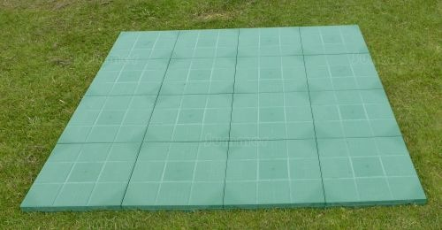 GREENHOUSES - Greenhouse Base - Eco-paving base, 200 tonnes per m2, fully paved